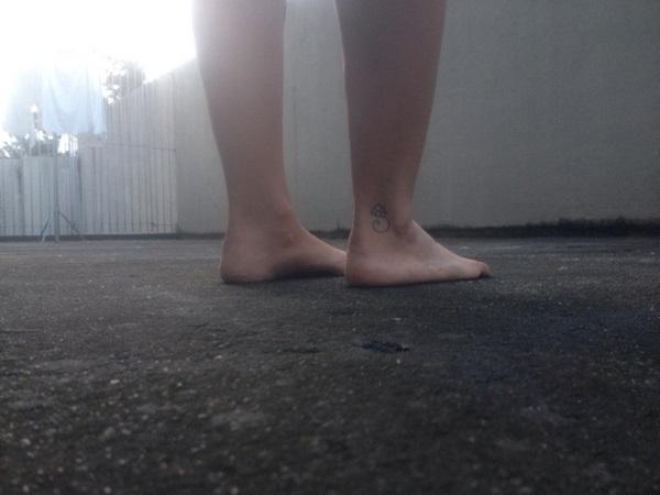 andar sem calcado