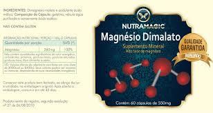cloreto de magnesio dimalato nutramagic